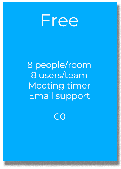 Virtual Meeting Rooms Pricing Free