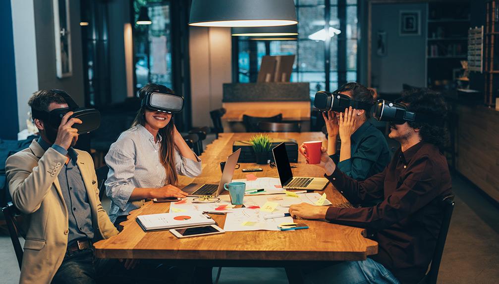 Virtual Reality Meeting