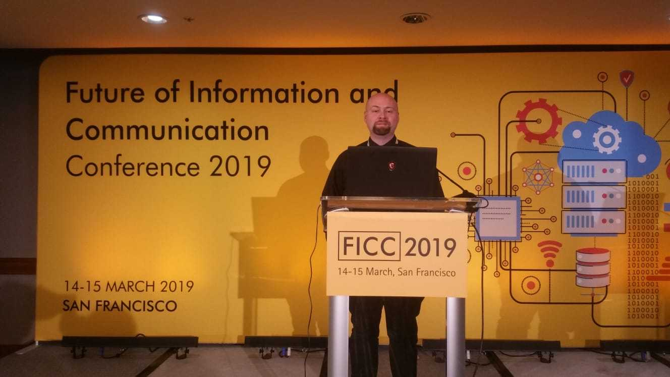 Abey at the Future of Information and Communication Conference 2019